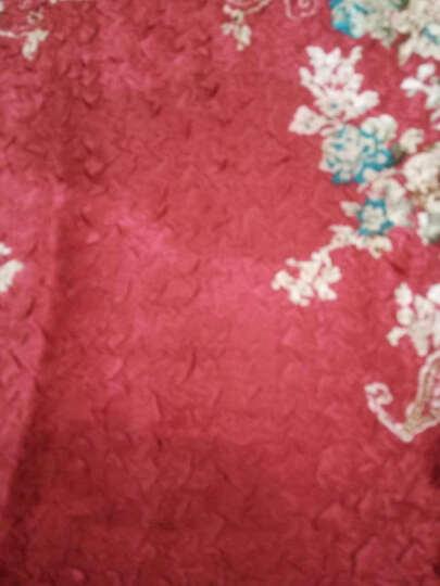 凤九 新款中老年女装婚宴结婚参加婚礼妈妈装春夏装礼服真丝连衣裙唐装风衣 红色 XXL建议110-123斤 晒单图