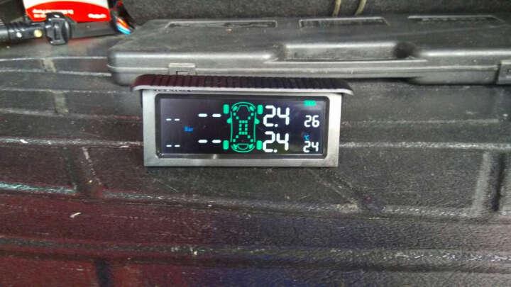 车e通 太阳能胎压胎温监测仪无线内置外置传感器计表TPMS汽车轮胎压力检测系统 T501内置 晒单图
