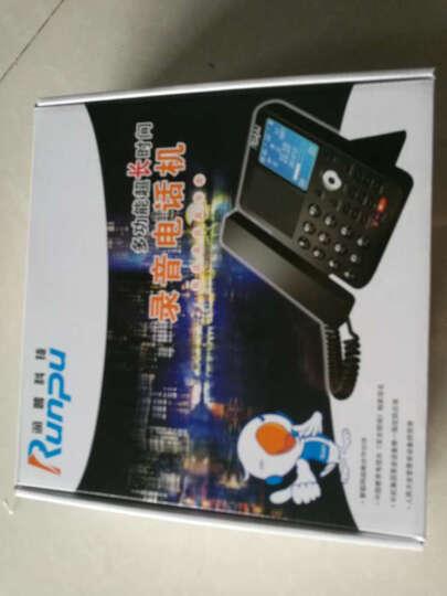 润普(Runpu)芯片数码录音电话座机/USB电脑备份密码管理/商务办公客服行政值班 RPSD930 外置TF卡280小时 录音电话机 晒单图