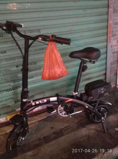 酷车e族  折叠电动车自行车 代驾电动车 标准版 晒单图