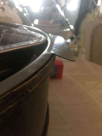 海鲜大咖盘烧烤锅炉仿古铜器皿拼盘 90*45 晒单图