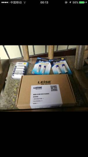 雷摄(LEISE)812多槽位标准充电套装(配12节5号2200毫安充电电池+12槽充电器)KTV麦克风专用系列 晒单图