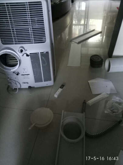 德国AEA KYR35B 冷暖移动空调1P/1.5P冷暖厨房家用免安装一体机 1.5P单冷 晒单图