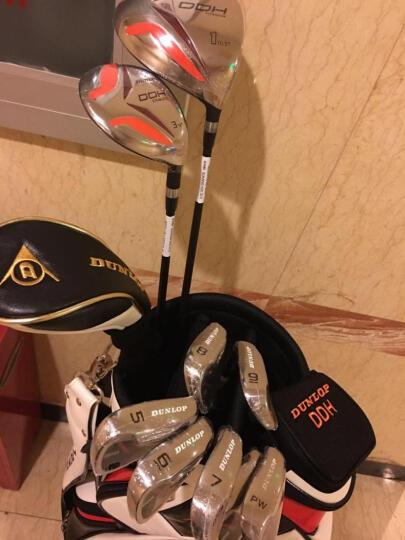 登路普(DUNLOP)高尔夫球杆男士套杆 Fury 初中级碳素钛合金全套 2018年新款 配黑红球包 晒单图
