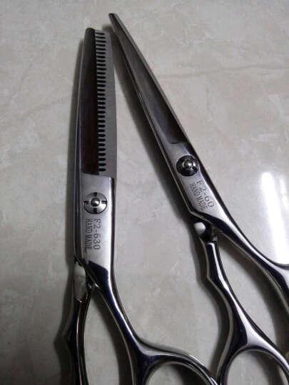 莎婷专业理发剪刀美发工具发廊平剪牙剪组合家庭打薄推剪刀套餐 牙剪 晒单图