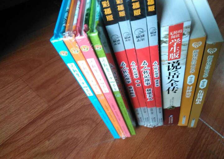 成长·励志名人传记故事:居里夫人 爱因斯坦 诺贝尔 牛顿(彩插版 套装共4册) 晒单图