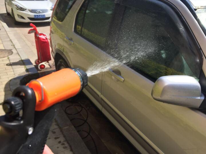 乐佳 车载洗车家用电动洗车器洗车水泵高压水枪 箱式+电源 晒单图
