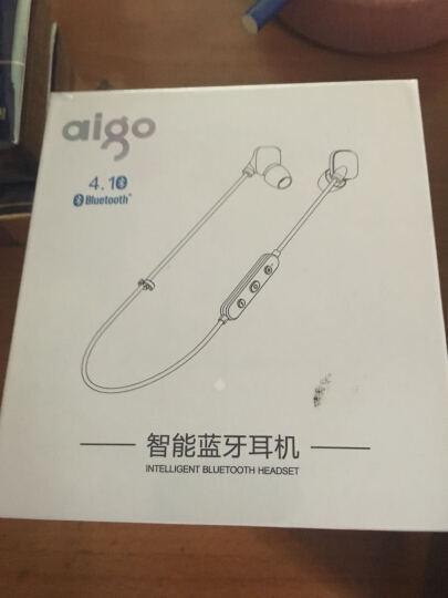 爱国者(aigo) Aigo/爱国者 S60蓝牙耳机 运动跑步防水防汗入耳式无线音乐耳塞 黑色 晒单图
