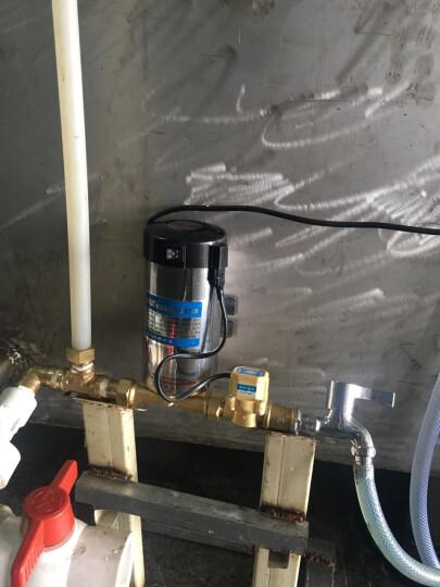 自来水增压泵家用全自动抽压力泵水泵吸泵 大型150W 晒单图