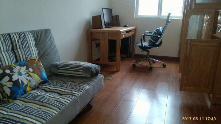 原鑫态 沙发床 折叠沙发床 简约布艺沙发 沙发床两用 多功能沙发折叠床 自由蓝-皮款-1.9米 晒单图