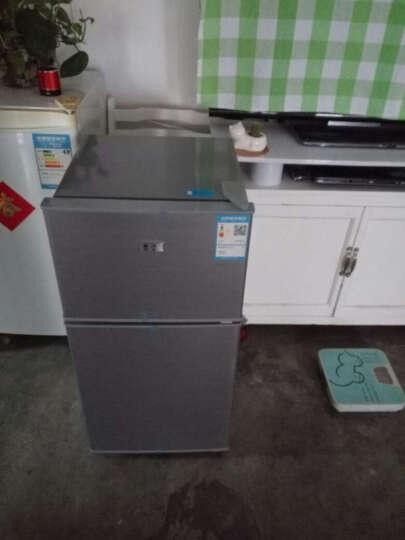 喜力(XIL) 双门 迷你小冰箱 家用小型电冰箱 冷藏冷冻节能静音  BCD-58A 炫银【京东发货】 晒单图