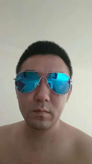 威古氏(VEGOOS) 偏光太阳镜男款司机驾驶镜复古男女士墨镜经典蛤蟆镜 3149  银框天际蓝 晒单图