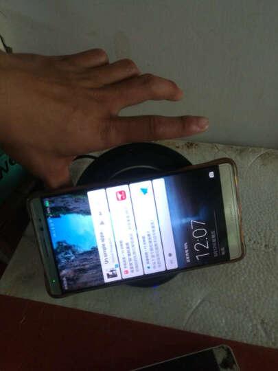 Coiorvis 手机无线充电器立式 苹果iPhone8/X/7/6splus/安卓通用 黑色底座+安卓正向接收器 晒单图