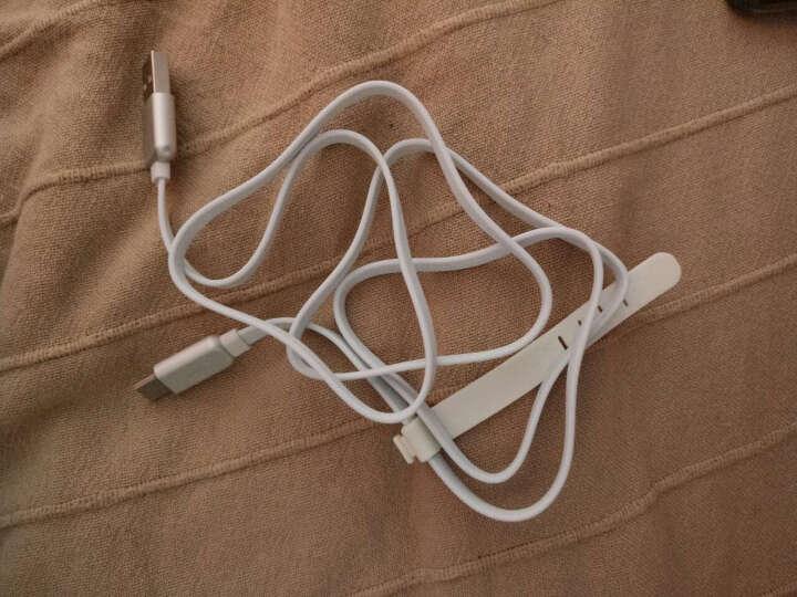幻响(i-mu)手机数据线 安卓Type-C充电线 usb线 支持华为/小米/美图/OPPO/VIVO/乐视/魅族等 1米带灯 银色 晒单图