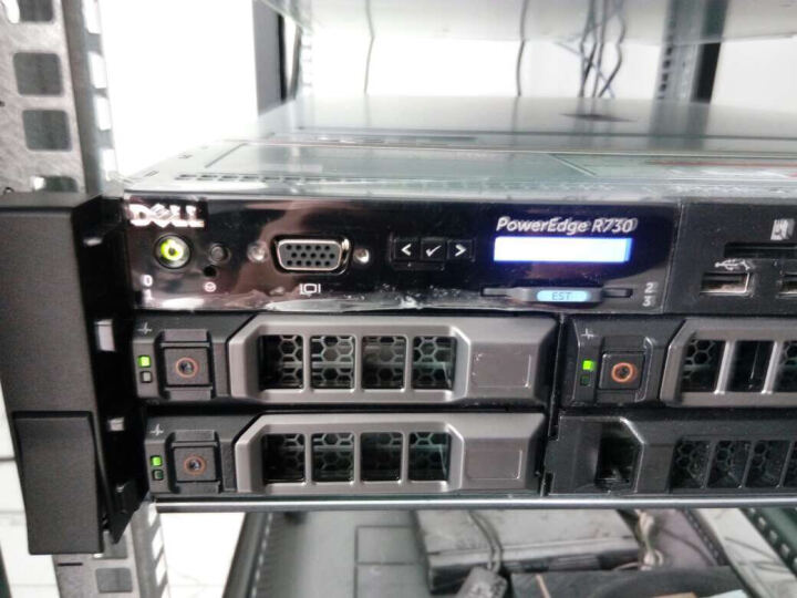 戴尔(DELL)PowerEdge R730 2U机架式服务器主机(8盘位)3年上门服务 1颗E5-2620V4+495W单电 8G*2 256GSSSD*3  750W 晒单图