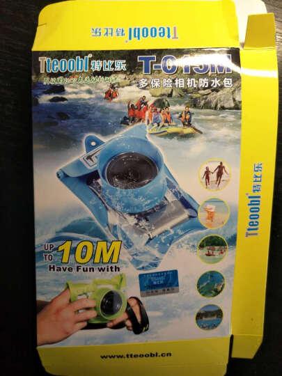特比乐三星松下微单防水袋摄影水下游泳漂流相机防水套索尼佳能 gq-508L 7cm 橙色 晒单图