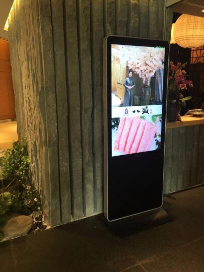 金视野 立式广告机LED智能数字标牌安卓电脑触控触摸一体机竖屏落地显示器 43英寸智能单机版广告机-非触控 晒单图