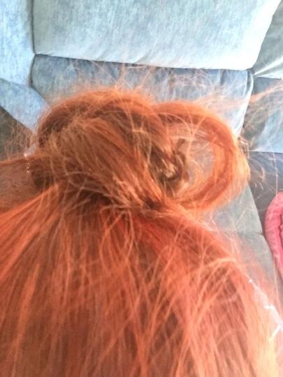 欧莱雅(LOREAL) 卓韵霜时尚渐变染发霜 #6.60渐变绯红染发剂(红色系 遮白不伤发染发膏) 晒单图