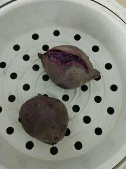 味道网 湖北宜城将军紫薯 约8-15个 2.5kg 地瓜番薯蔬菜 晒单图