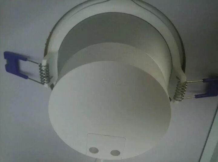 公牛led筒灯3W桶灯客厅吊顶天花灯过道嵌入式孔灯牛眼灯具 7W/4寸暖白光3000K/开孔尺寸100mm 晒单图