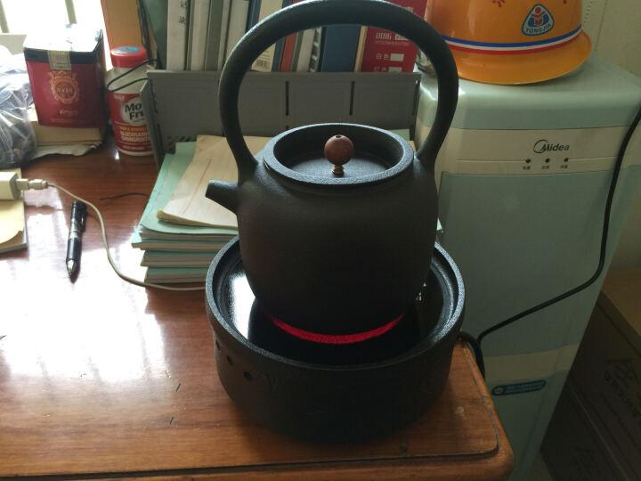 晨茗 电陶炉茶壶套装大容量烧水壶煮茶器铸铁壶陶壶茶炉黑茶养生泡茶壶 电陶炉+五行壶1800ML 晒单图