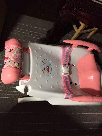 儿童洗头椅洗头床宝宝洗头躺椅洗发椅可折叠厚加大 粉色 晒单图