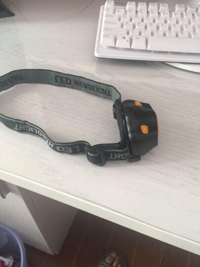 安豹(ANBAO) 安豹 LED强光头灯户外感应灯 夜钓鱼灯头灯 3*AAA电池野营装备 黑色 网上报价送电池 晒单图