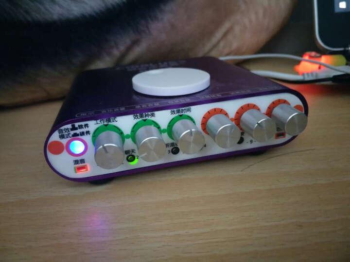 创意达蓝调PK-3手机直播电音声卡话筒套装 电容麦克风电脑网络主播K歌套装 usb独立声卡 晒单图
