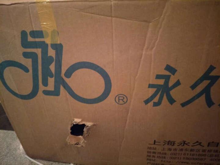 永久(FOREVER) 自行车 山地车 27/30变速 铝合金男女学生碟刹单车 8.3 黑红色(26寸27速线碟) 热卖 晒单图
