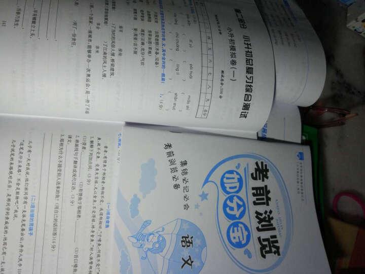 小升初毕业总复习全解 语文 2017春 晒单图