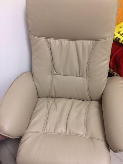 利豪(LEHOO)7052 皮艺休闲椅 可躺午睡皮椅加脚凳 晒单图