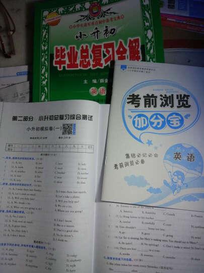 小升初毕业总复习全解 数学 2017春 晒单图