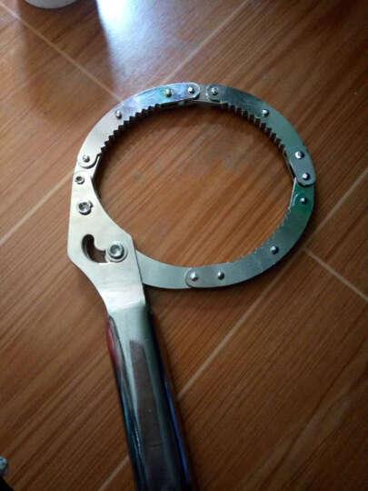 广一 手拷式机油格扳手 机油滤清器扳手 机滤芯拆装扳手 不锈钢扣式扳手大号75-95mm 晒单图