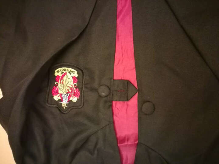 哈利波特cosplay衣服装长袍背心领带围巾cos格兰芬多斯莱特林魔法袍校服斗篷 衬衣 170CM 晒单图