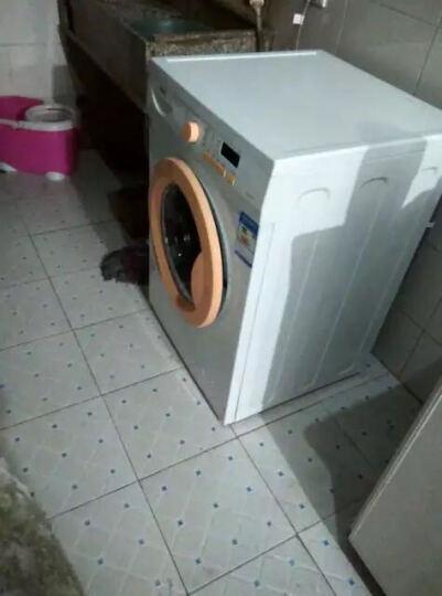 海尔HaierEG801200W 8公斤 滚筒洗衣机 芯平衡 防霉抗菌窗垫  晒单图