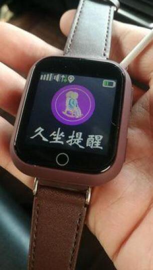 【心率监测】老人定位手表智能电话成人手机男士定位手表语音插卡通话防丢手环运动记步器 金红色(心率检测+触摸屏+智能定位) 晒单图