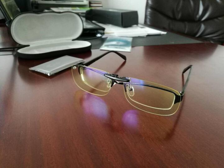 科莱多防辐射防蓝光眼镜夹片男女款 近视眼镜夹片电竞游戏电脑护目平光镜 圆形夹片-镜片尺寸5.8*4.7cm 晒单图