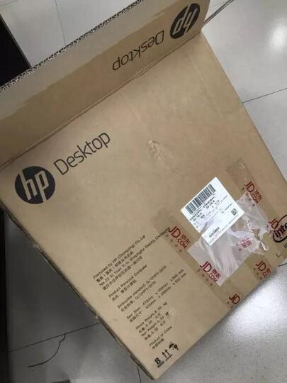 惠普(HP)286 Pro G2 MT 台式办公电脑主机(i5-6500 4G 1T 2G独显 DVDRW 3年上门服务) 晒单图
