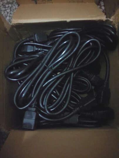 慈达Strtec UPS电源线PDU/服务器电源延长线1.5平方C13-C14  认证达标 3*1.5/2米 晒单图