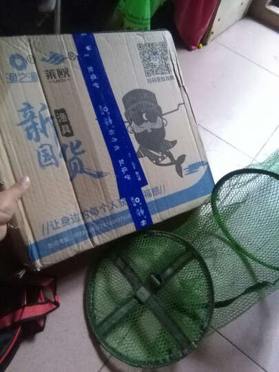 渔之源(Yuzhiyuan) 鱼护网兜竞技涂胶鱼护黑坑护网兜万向地插包边双圈野钓防臭速干 竞技双圈45*2.5米 晒单图