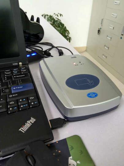神盾ICR-100M二代身份证阅读器 三代身份证读卡器 中盾身份证识别仪 酒店身份证扫描仪 ICR-100M(老款) 晒单图