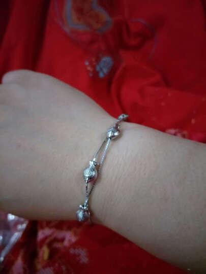 零点在线 可爱小鱼   925银手链 /时尚银饰女士手链 长度可调节 晒单图