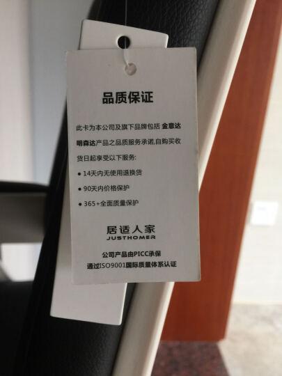 沃舒电脑椅子办公椅家用弓形会议椅老板椅 珍珠黑 经典弓形款 晒单图