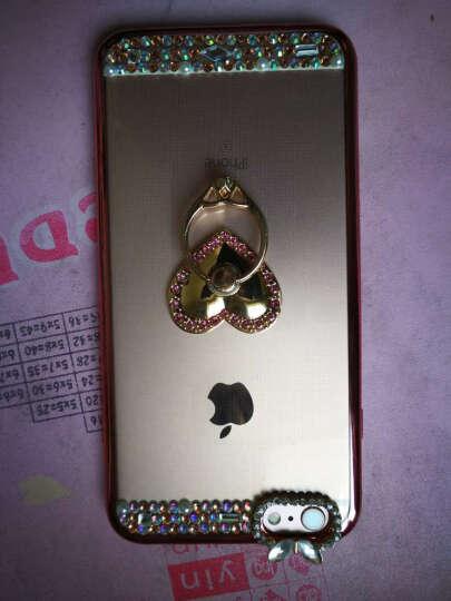 FKM 苹果6s手机壳女挂绳iphone6s保护套水钻全包防摔软 适用于6/6splus plus5.5英寸-玫瑰金天鹅 晒单图