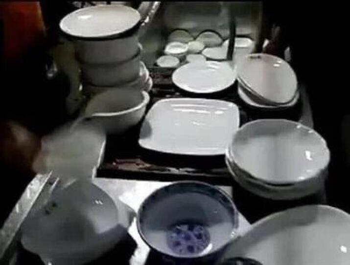洗碗机商用台式餐厅食堂酒店厨房面馆餐具全自动洗碗机自动洗菜刷碗机 0.8米 晒单图