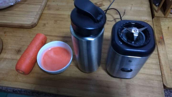 WMF 福腾宝 榨汁机 便携MIX&GO果汁机 Keep Cool不锈钢保冷榨汁机 晒单图