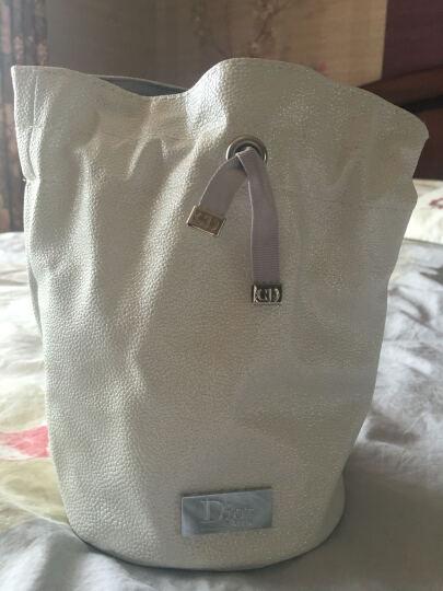 迪奥 Dior 化妆包女 白色桶型化妆包 晒单图