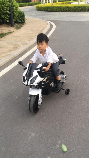 巨龍(JULONG) 授权童车儿童摩撬车电动童车儿童电动车小孩玩具2-9岁 黑色 晒单图