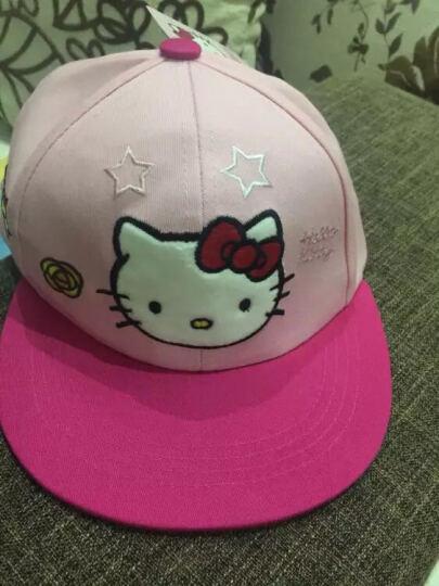 凯蒂猫(HELLO KITTY)儿童网眼棒球帽 KT4057 粉玫 50cm 晒单图