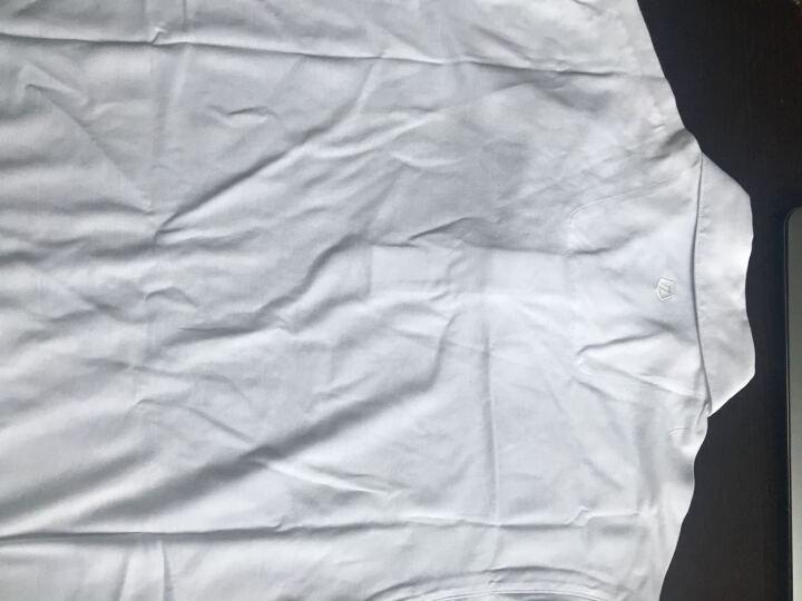 Z ZEGNA 杰尼亚 男款深蓝色棉纤暗花短袖POLO衫 VI322 ZZ617 B09 XL码 晒单图